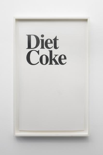 , 'Diet Coke,' 2006, Office Baroque