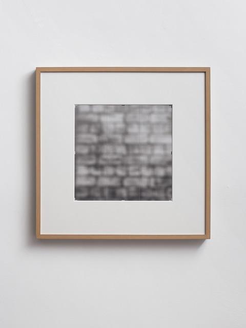 , 'Crop [wall],' 1996 -2014, Dvir Gallery