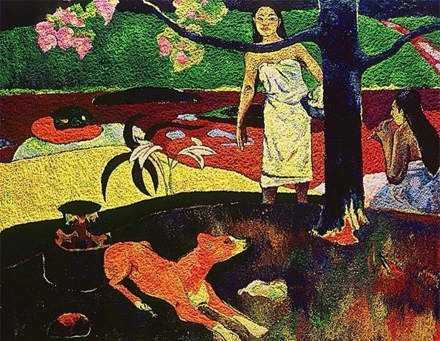 , 'Pastoral Tahitiana, after Gauguin /Série Pigmentos,' 2005, Athena Galeria de Arte