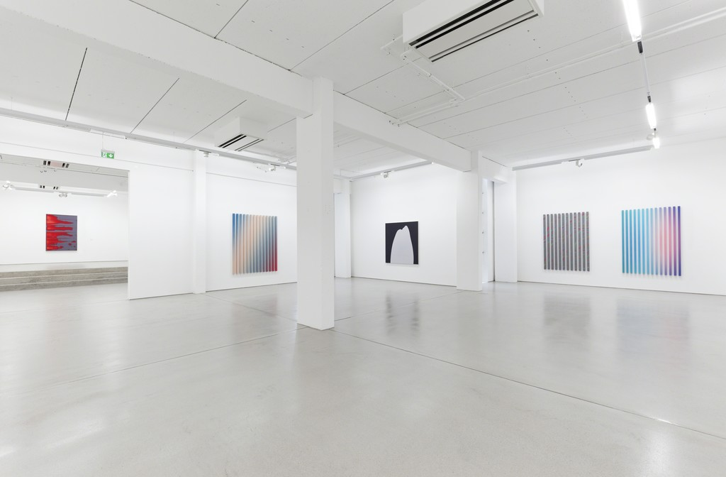 Installation view Behlau/Loesch GOOD MORNING, HALLO. Photo by Dotgain.info © the artists & G2 Kunsthalle, Leipzig.