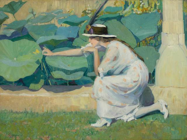 , 'Lure of the Butterfly,' ca. 1914, Vose Galleries