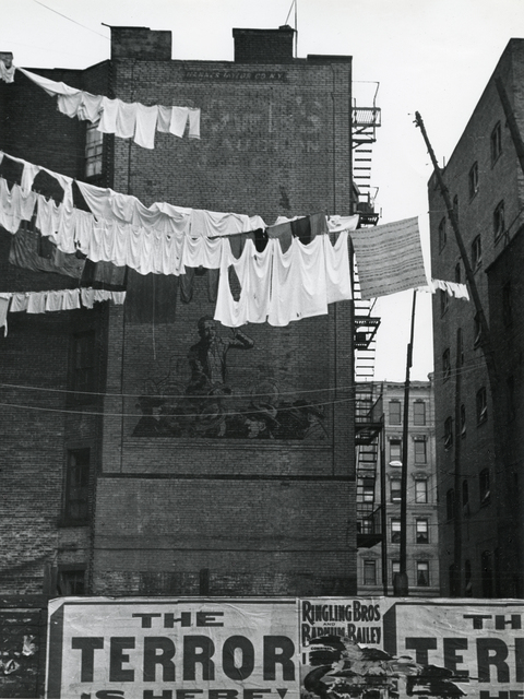 André Kertész, 'Untitled (laundry lines)', 1939, GALLERY FIFTY ONE