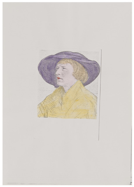 , 'Untitled (Portraits after Holbein),' ca. 1977, Richard Saltoun