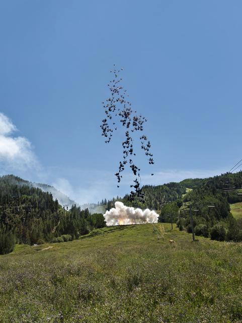Cai Guoqiang 蔡国强, 'Black Lightning', 2014, Performance Art, Performance, Cai Studio