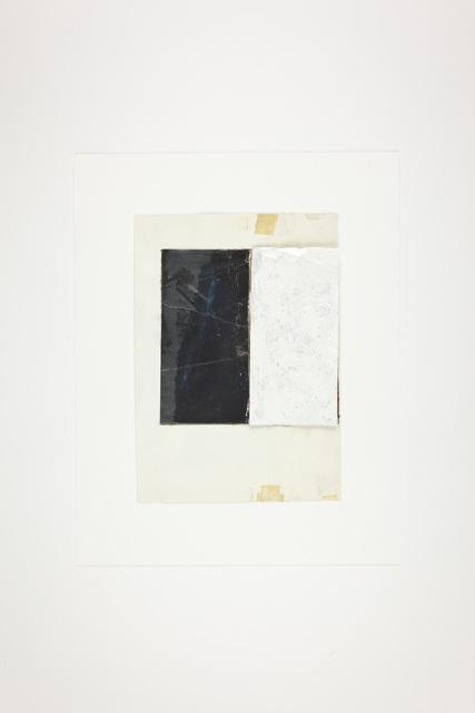 , 'desenho de a noite e branco   drawing of the night and white ,' 1997, 3+1 Arte Contemporânea