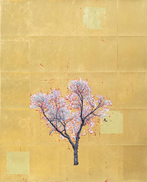 , 'Gold Leaf Tree No. 025,' 2018, Richard Levy Gallery