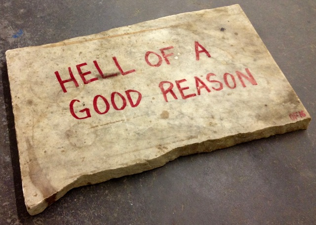 , 'Hell of a Good Reason,' 2016, Robert Kananaj Gallery