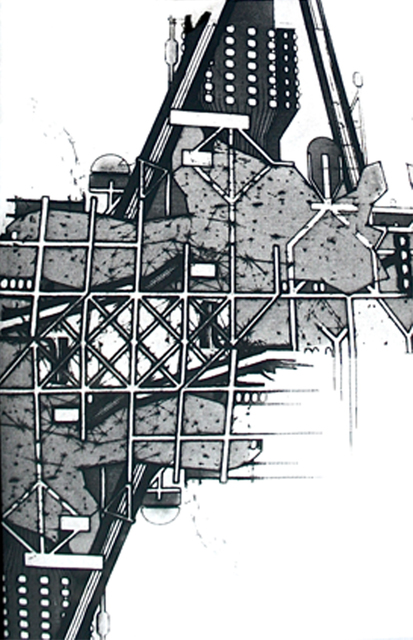 , 'Rebuilding the Unbuilt [I],' , Royal Society of Painter-Printmakers
