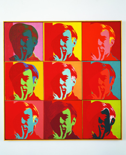 , 'Self-Portrait,' 1966, Musée d'Art Moderne de la Ville de Paris