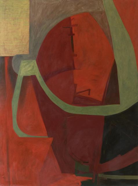 , 'The City's Fiery Parcels All Undone,' 1987, Corkin Gallery