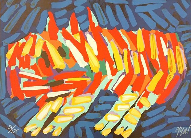 Karel Appel, ' Clown Cat', ca. 1970, Le Coin des Arts