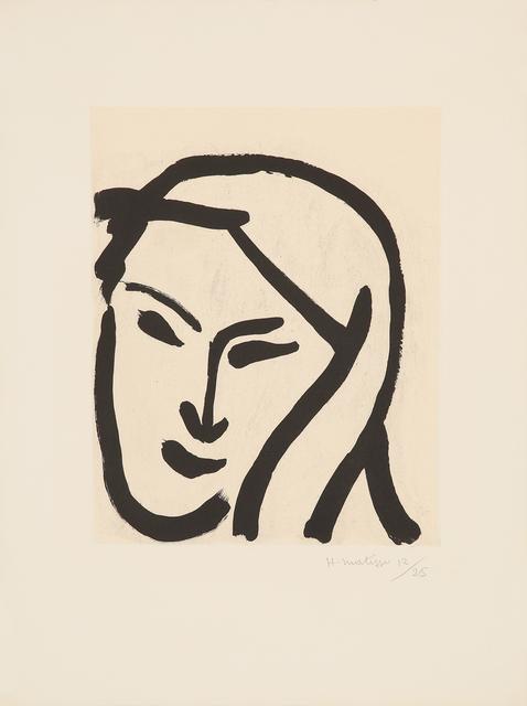 , 'Bédouine au voile dénoué,' 1947, Galerie Boisseree