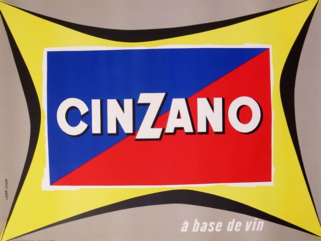 , 'CINZANO A BASE DE VIN,' ca. 1950, Galleria Alfieri
