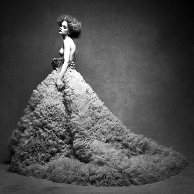 Victor Demarchelier, 'Rosie Tupper Study #4', 2009, Photography, Selenium Toned Gelatin Silver Print, CAMERA WORK