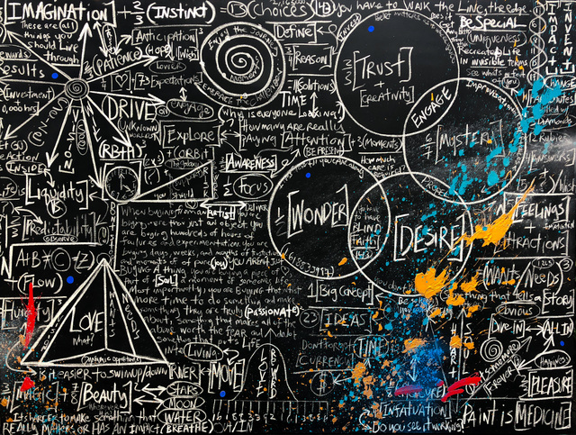 , 'Chalkboard Series: Be Special,' 2018, Contessa Gallery
