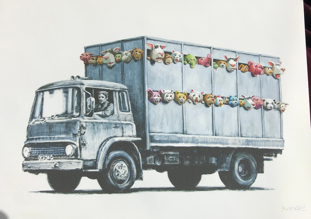 Banksy, 'Sirens Of The Lambs / Meat Truck (Signed Gift Print)', 2013, Prescription Art