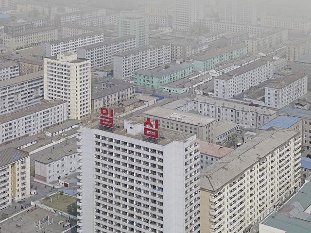 , 'View from Juche Tower (Juche Tower Street, Pyongyang),' 2014, The Ravestijn Gallery