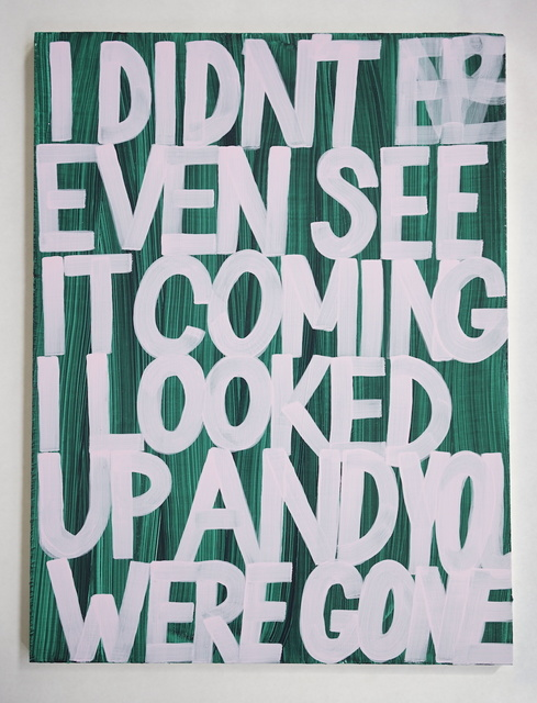 , 'I Didn't Even See It Coming,' 2016, Gallery 16