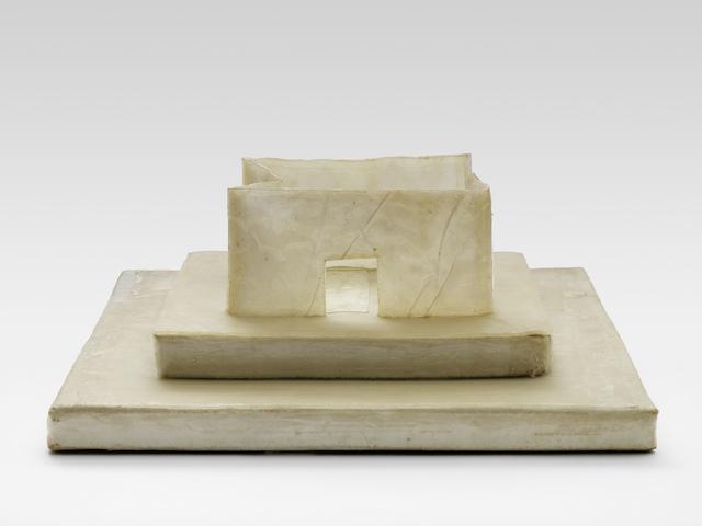 , 'Weissleimhaus (Glue House),' 1976, Parasol unit foundation for contemporary art