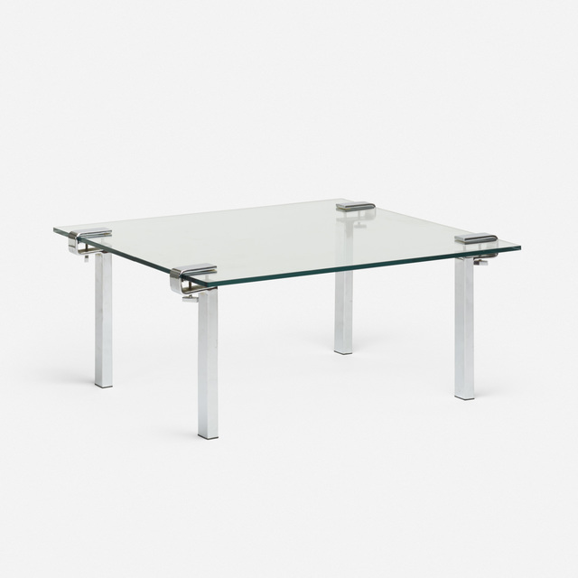 François Arnal, 'T9 coffee table', c. 1970, Wright