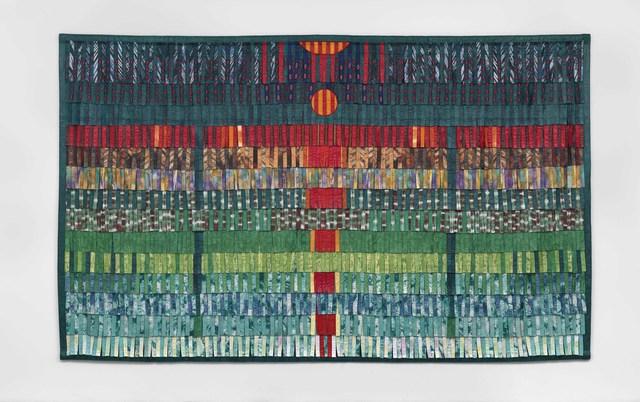 , 'Composition vert émeraude et rouge,' 2016, Blain | Southern