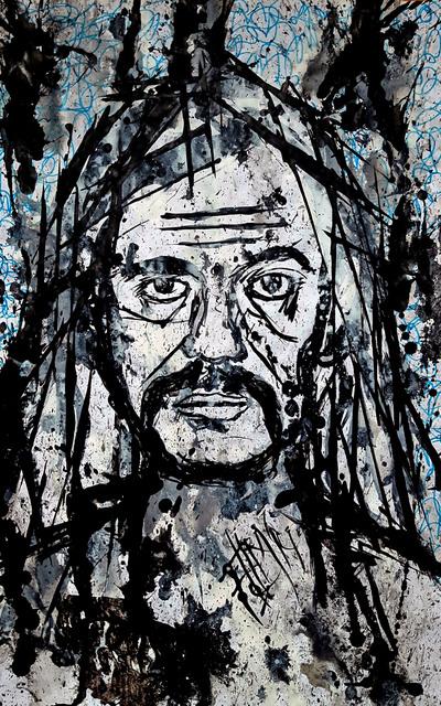, 'Lemmy,' 2014, The Directed Art Modern