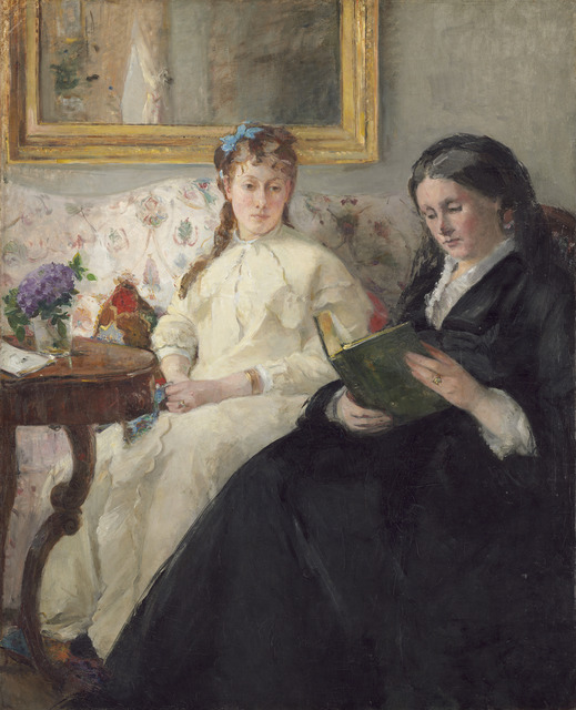 Berthe Morisot, 'The Mother and Sister of the Artist', 1869/1870, National Gallery of Art, Washington, D.C.