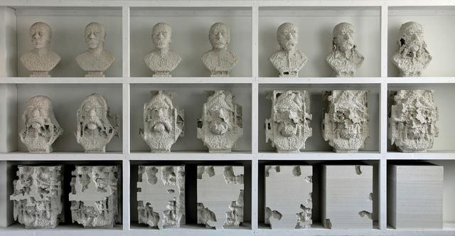 , 'busts,' 2012, Loom Gallery