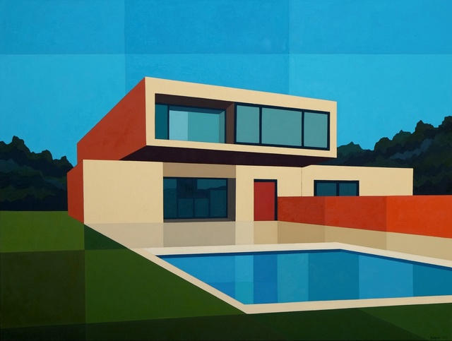 , 'Cantilever Pool House,' 2016, Cynthia Corbett Gallery