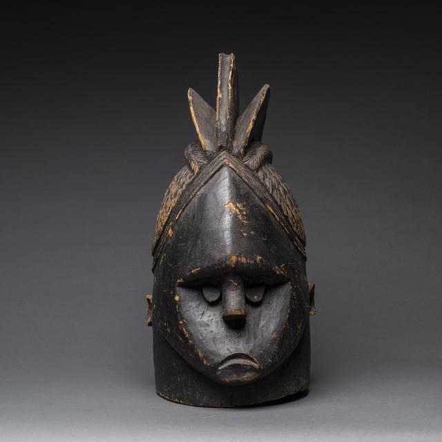 Unknown African, 'Mende Helmet Mask', 20th Century AD, Barakat Gallery