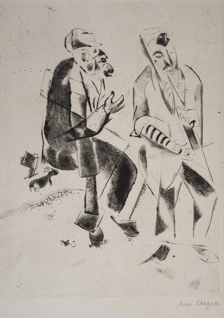 Marc Chagall, 'Les Grands Pères', 1922, Wallector