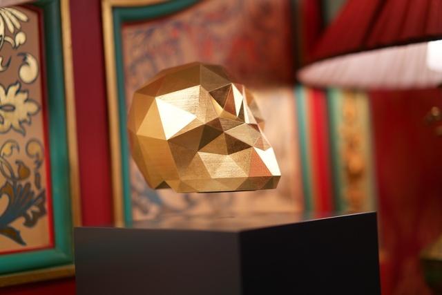 , 'Ankou Gold,' 2016, Muriel Guépin Gallery