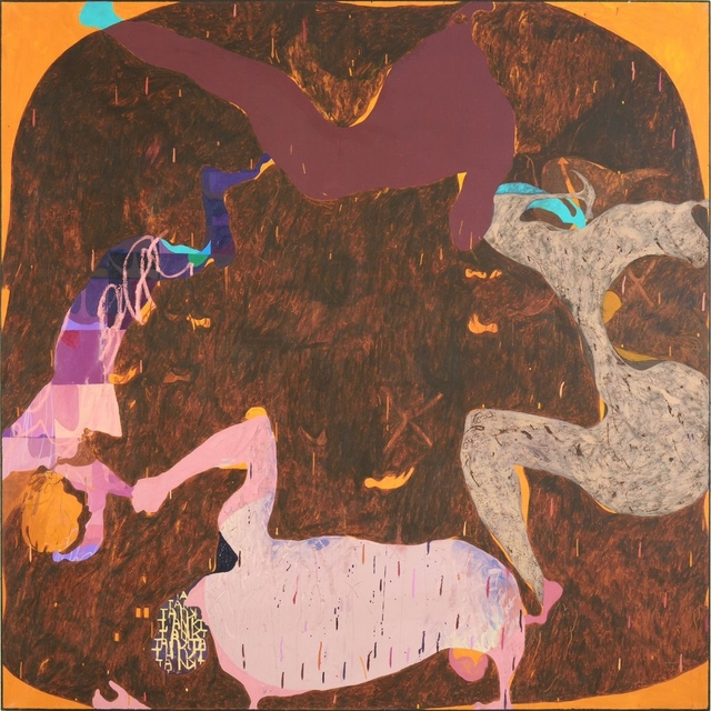 , 'Square Painting 6,' 2017, Galerie Kornfeld