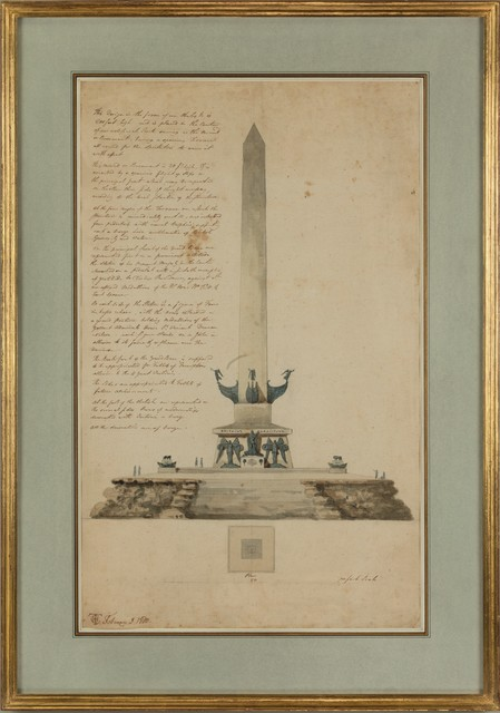 , 'Design for a Naval Monument in London ,' 1800, Thomas Coulborn & Sons