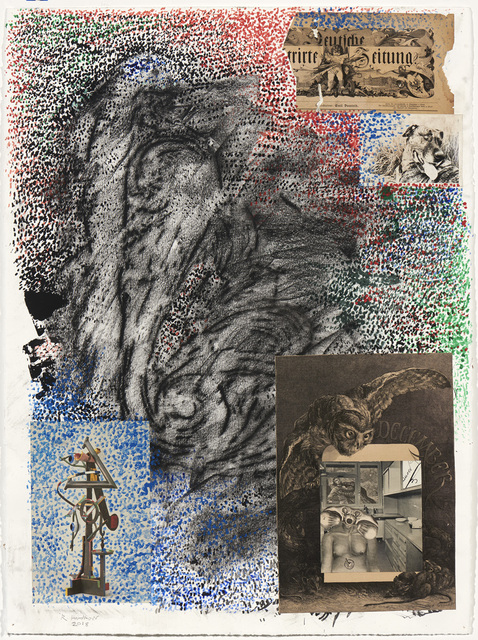 Robert Hudson, 'Owl', 2018, Brian Gross Fine Art