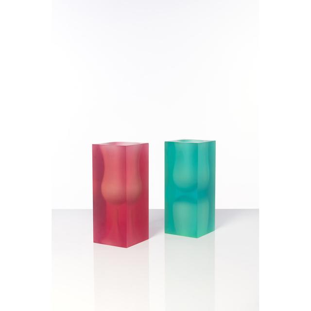 Andrea Branzi, 'Model No. VS1 and VS2 - Wireless Series - Set of two vases', circa 1995, PIASA