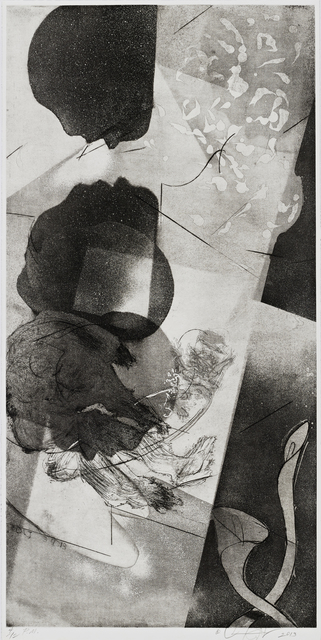 , 'Intaglio Print XLVII,' 2013, Burning in Water