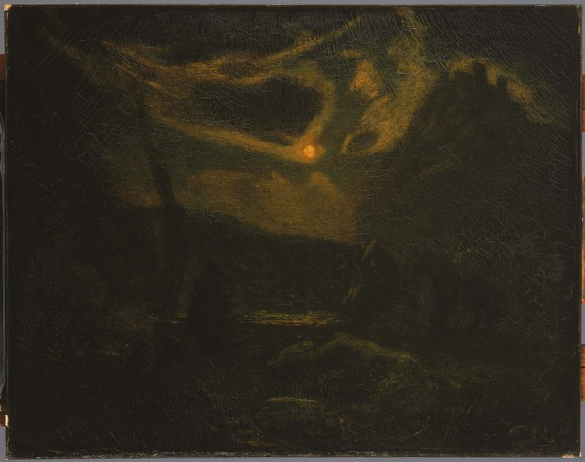 Albert Pinkham Ryder, 'Macbeth and the Witches', After mid-1880s, Painting, Oil on canvas, Phillips Collection