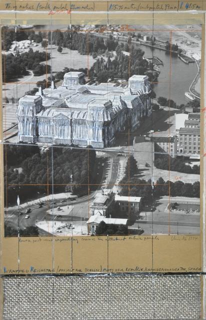 , 'Wrapped Reichstag,' 1994, Galleria Tega
