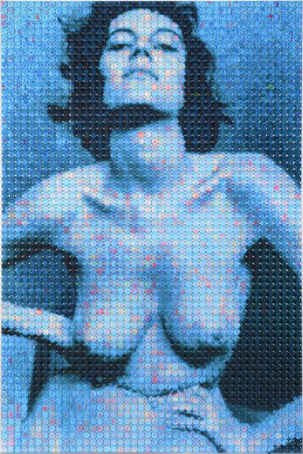 , 'Blue Lady- Nude Study 1,' 2016, Opera Gallery
