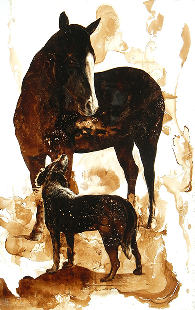 , 'Horse and Dog,' 2016, Craig Krull Gallery