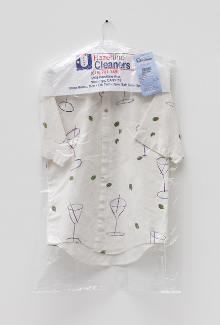 , 'Martini Shirt (Hazeltine Cleaners),' 2015, David Kordansky Gallery