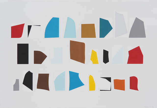 Toby Paterson, 'Array', 2011, Print, Screenprint on paper (Somerset Velvet 280gsm), Peacock Visual Arts