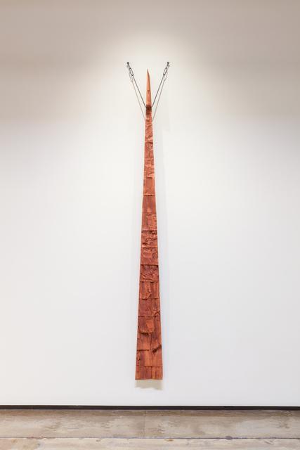 , 'Astula Rosso, Cardinal Wedge,' 2018, Goodwin Fine Art