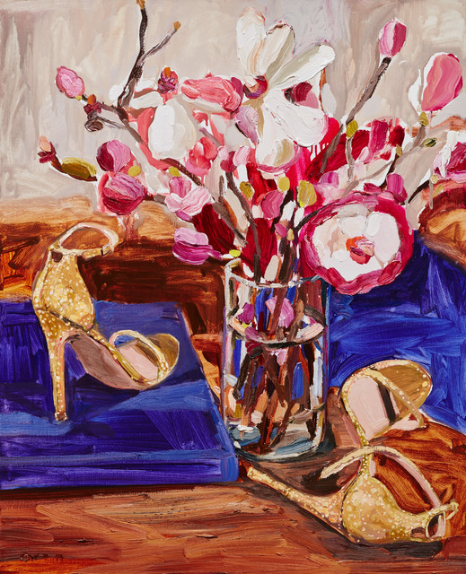 , 'Gold Heels and Magnolias ,' 2019, OLSEN GALLERY