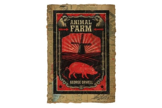 Shepard Fairey, 'George Orwell's Animal Farm HPM', 2010, Chiswick Auctions
