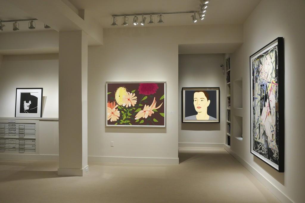 Alex Katz installation at Meyerovich Gallery