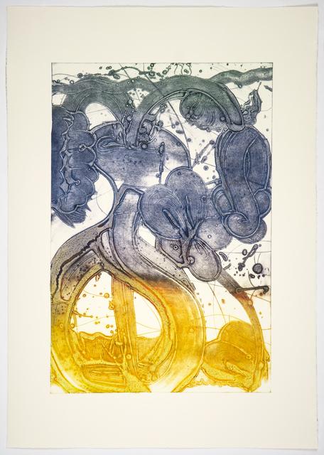 , 'Bouquet (mum, pale lemon, red, blue, hunter),' 2019, Manneken Press