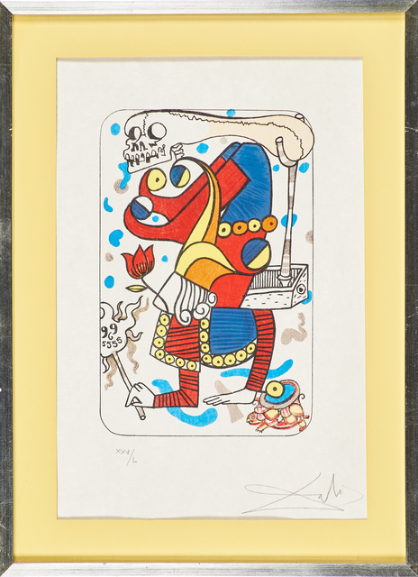 Salvador Dalí, 'Untitled', Print, Lithograph in colors, Rago/Wright