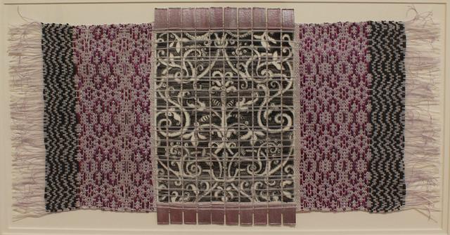 , 'Italian Jewish Pattern with Weaving,' 2017, ART MORA